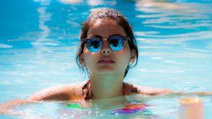 Schwimmen kräftigt Muskulatur und Haut